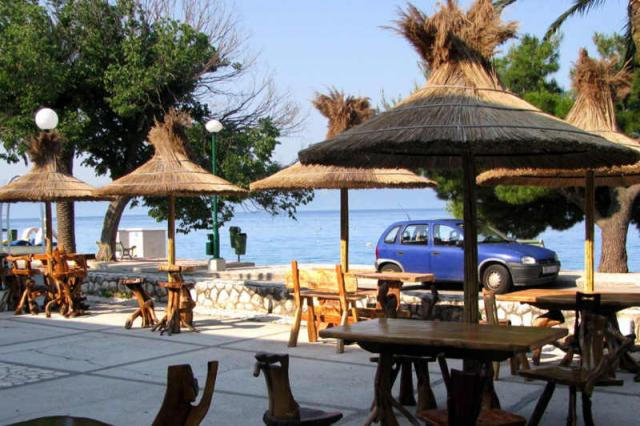 tawerna przy hotelu Laguna • Gradac