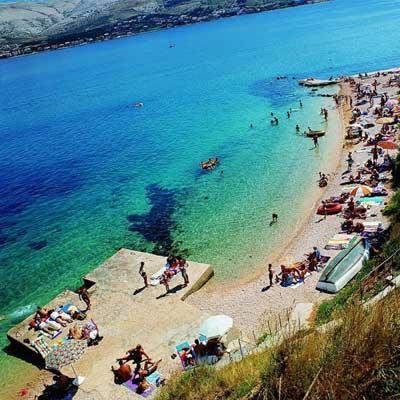 Pag • plaża