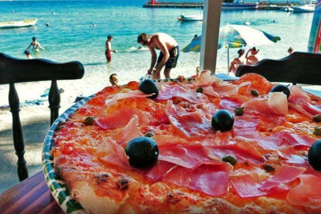 najlepsza pizza w pizzerii Gustirna • Gradač