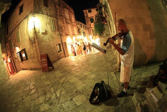 urocze uliczki Korčuli