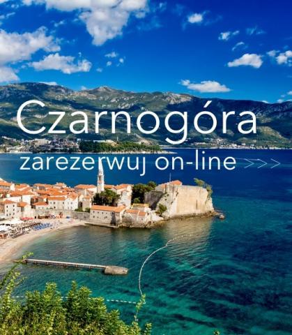 Czarnogóra wczasy last minute