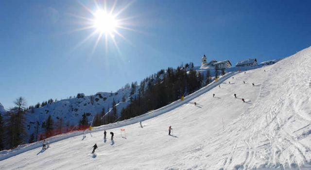 Monte Lussari•Tarvisio•Alpy Julijskie